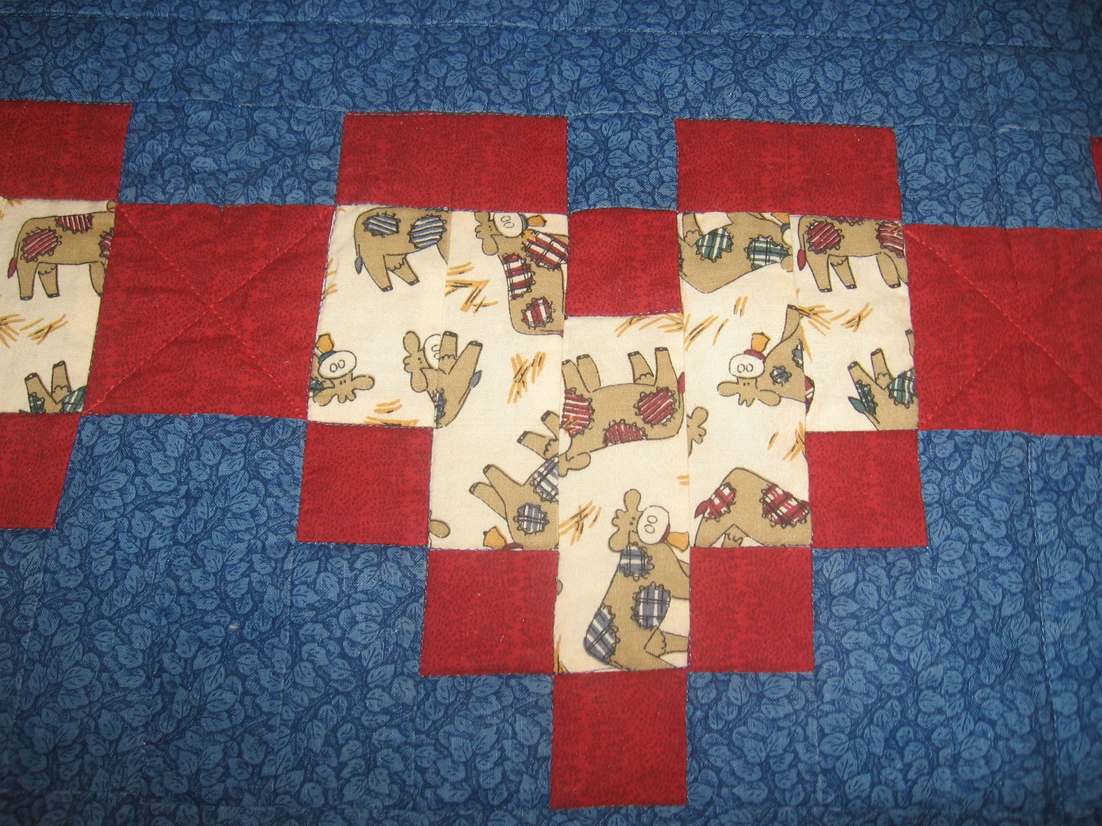 Name:  heart cow quilt 003.JPG