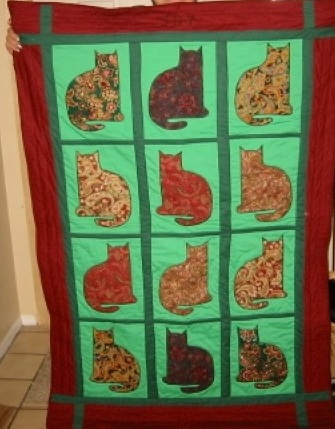 Name:  Joy's Cats quilt front (Small).JPG