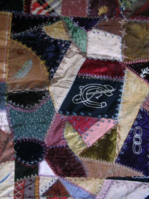 Name:  crazy quilt block with horseshoe thingy and blue feather.JPG Views: 4727 Size:  158.8 KB
