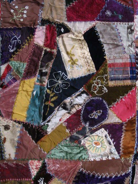 Name:  crazy quilt block with bee.JPG Views: 4211 Size:  179.4 KB
