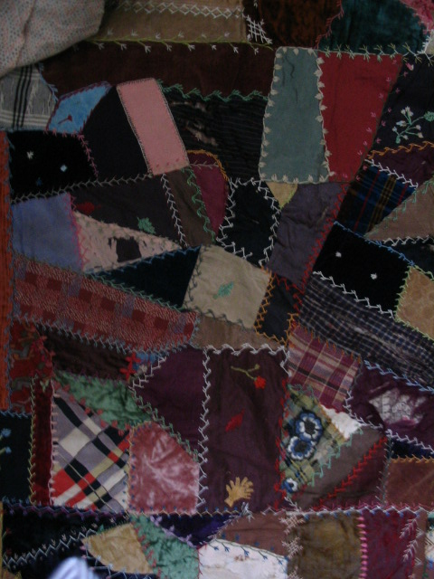 Name:  crazy quilt block with excellent wheat and white with blue flowers.JPG Views: 4251 Size:  136.6 KB