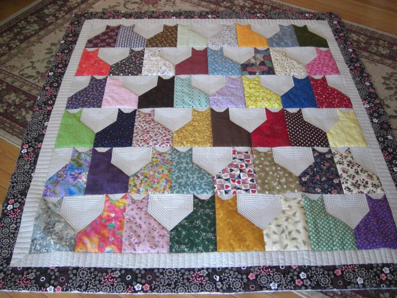 Impertinent image with regard to free printable cat quilt patterns