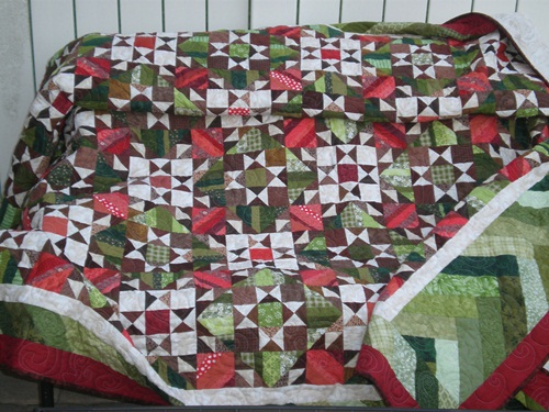 Name:  Quilt outside.JPG