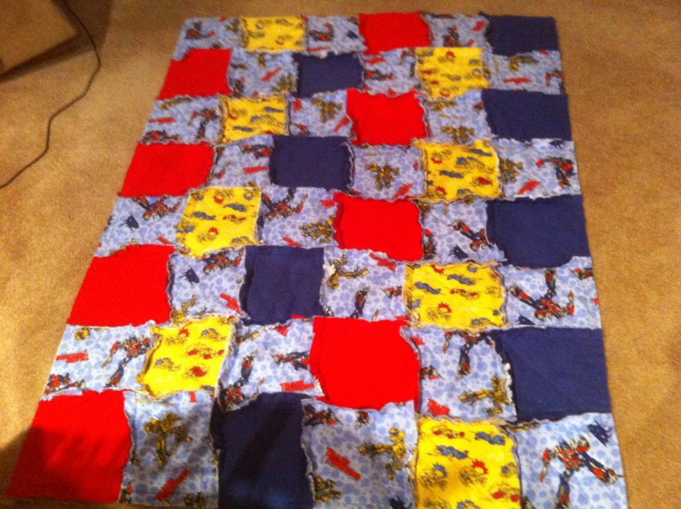 Name:  Blaines backpack rag quilt.3.jpg