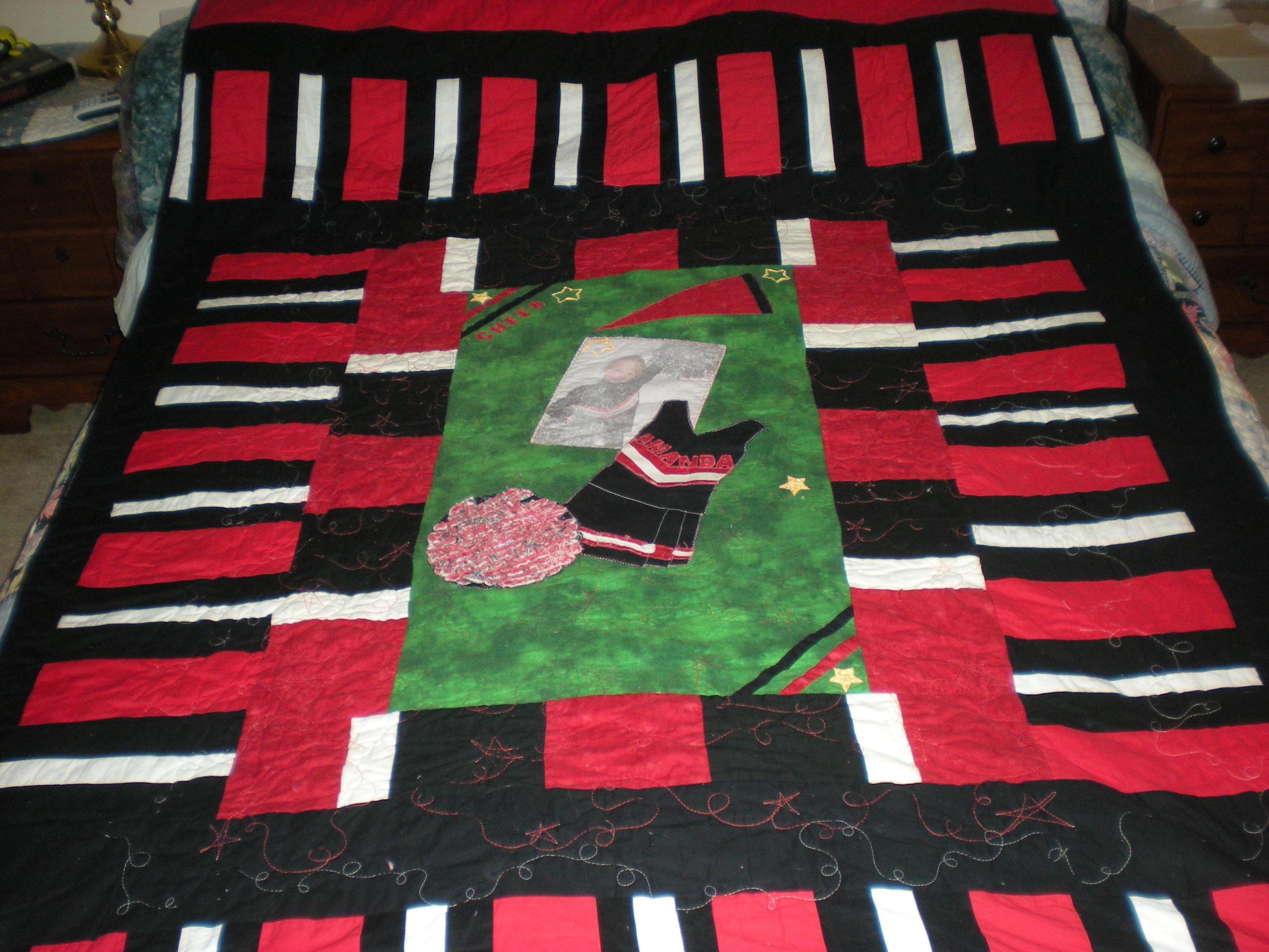 Name:  amandas cheer quilt.JPG Views: 1554 Size:  840.7 KB
