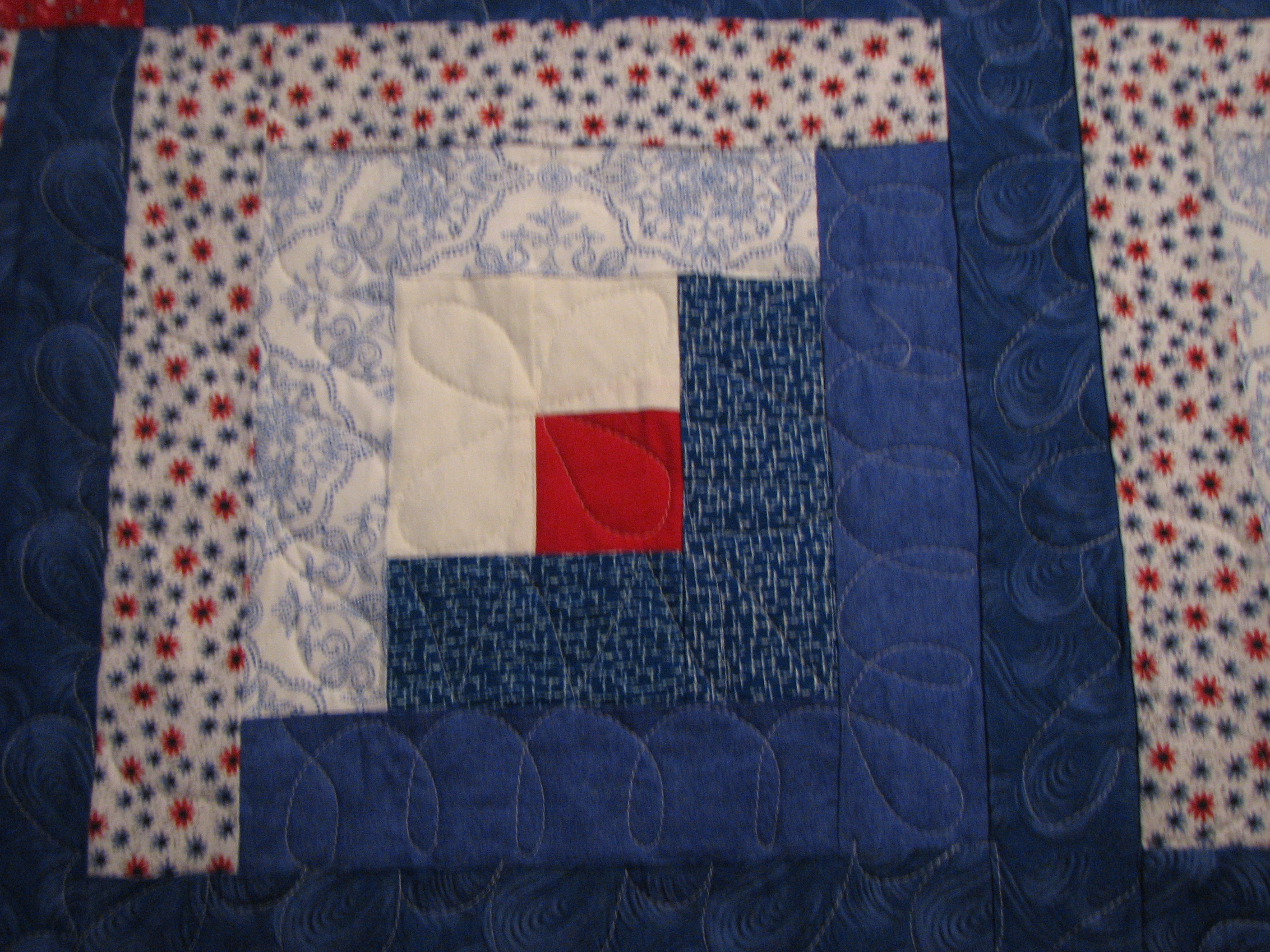 Cubs Quilt For Daughter And Future Son In Law