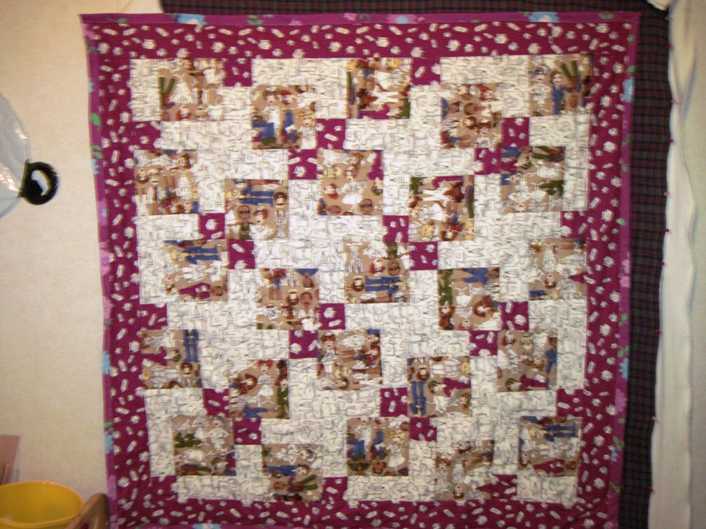 Name:  Mary's Grad quilt.JPG