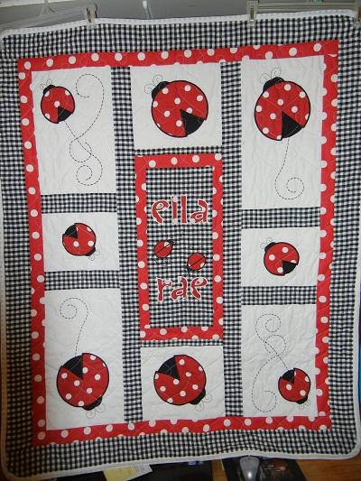 Name:  Ladybug Baby Quilt.jpg Views: 3231 Size:  156.7 KB