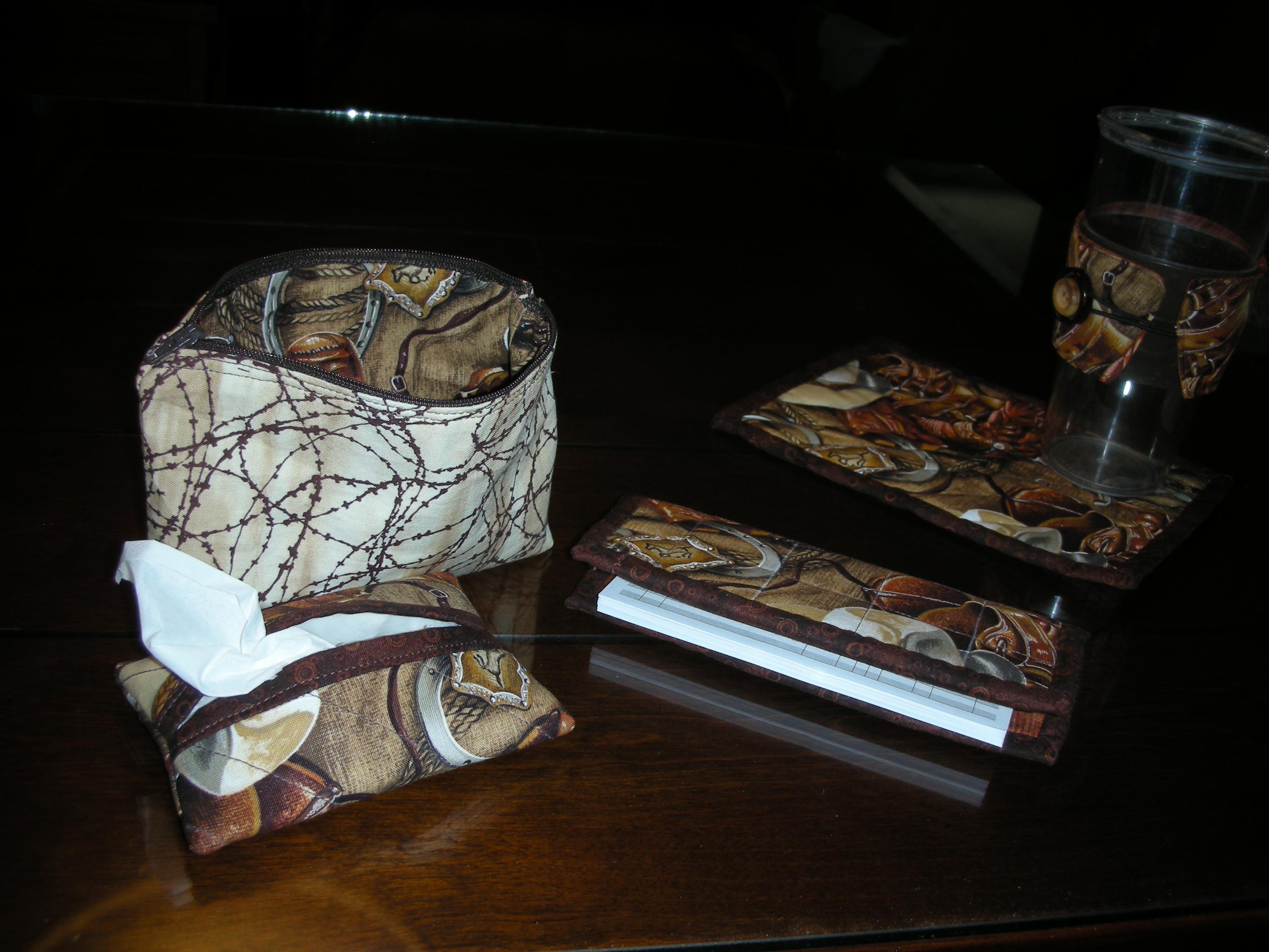 Name:  Tissue holder, checkbook, cosmo bag.JPG Views: 5245 Size:  1.67 MB