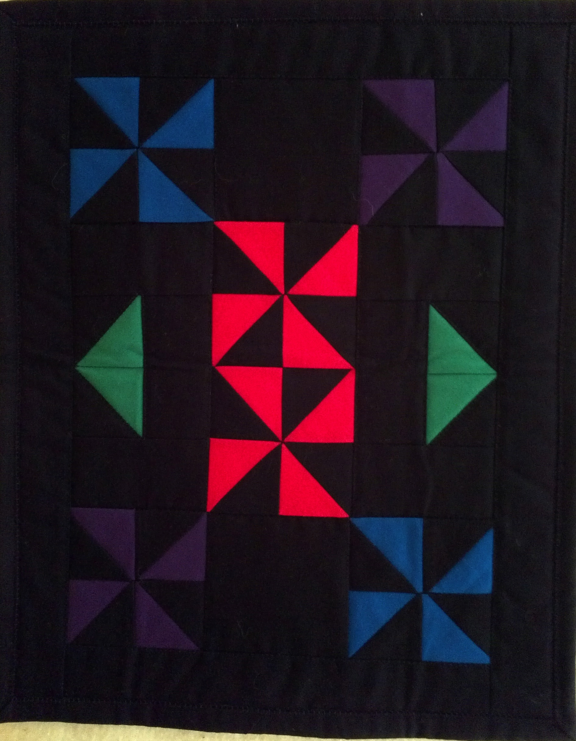 Name:  Dragonfly Nana's Amish Doll Quilt.jpg