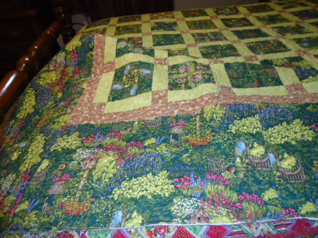 Click image for larger version.  Name:My 4-Patch Stacked Posey Focus Fabric.JPG Views:1449 Size:118.5 KB ID:359840
