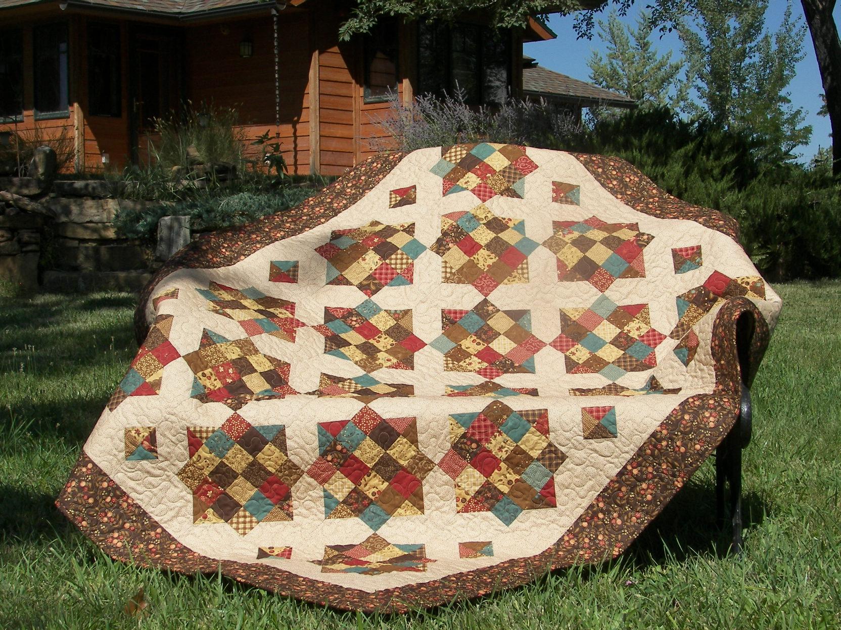 Quilts made from Missouri Star Quilt tutorials : missouri quilt star - Adamdwight.com