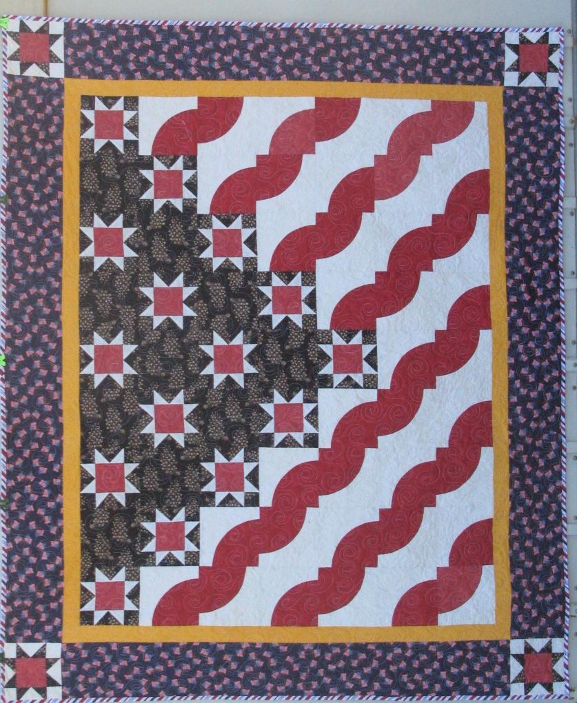 Thread quilt of valor by mark lipinsky