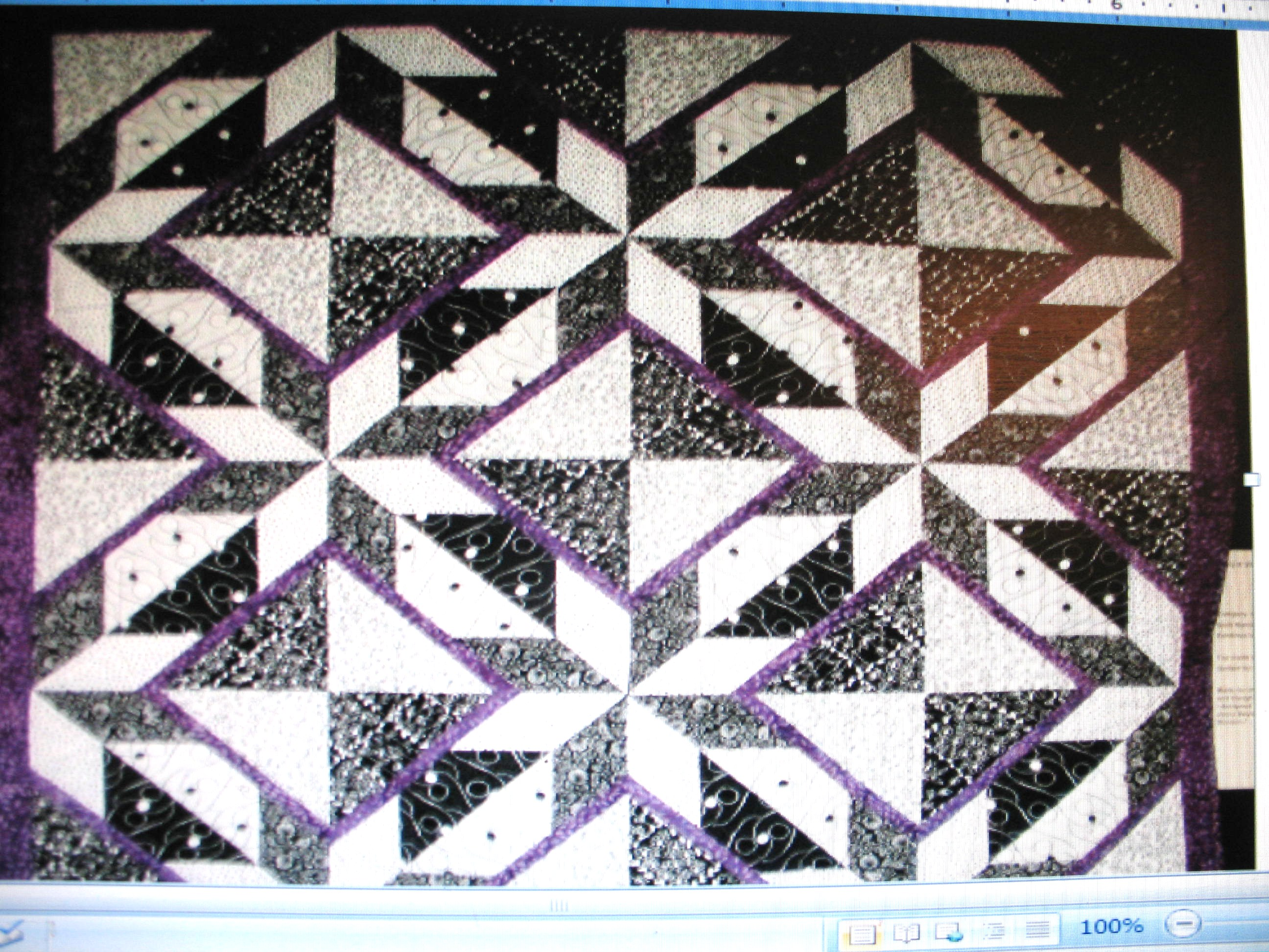 Name:  Purple and gray quilt .JPG