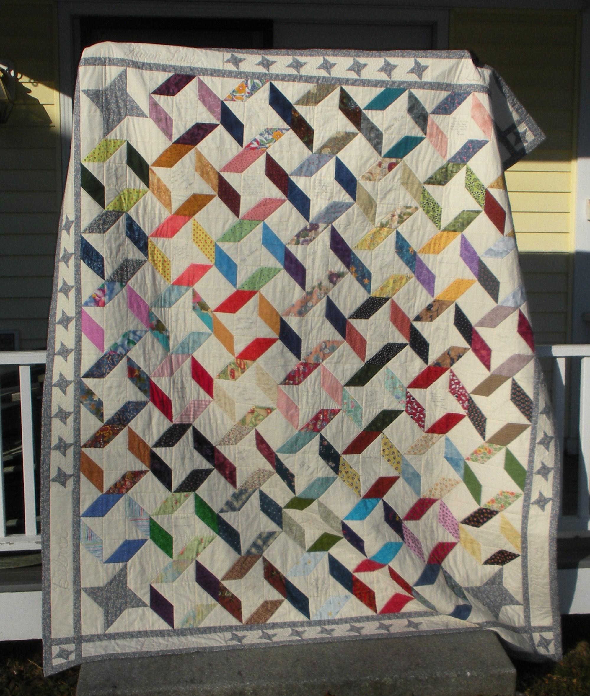 Name:  Karen's quilt.JPG Views: 900 Size:  868.6 KB