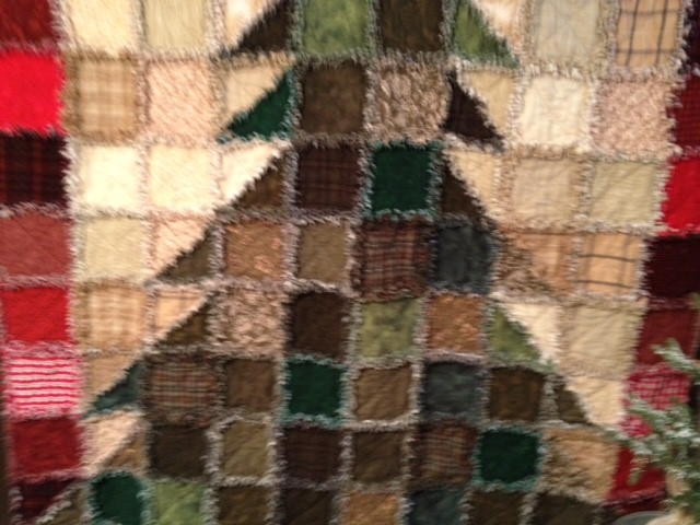 Name:  Rag Christmas Tree Quilt 002 (640x480).jpg Views: 1236 Size:  89.4 KB