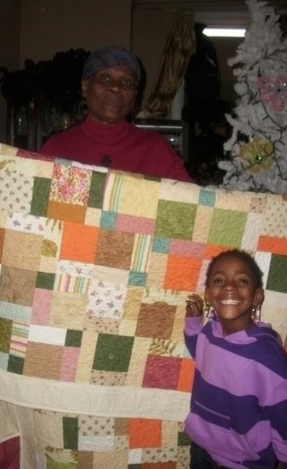 Name:  Pat with quilt 2.jpg