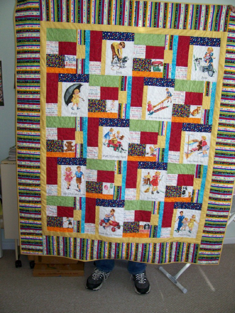 Name:  Alice's Cchristmas quilt.jpg