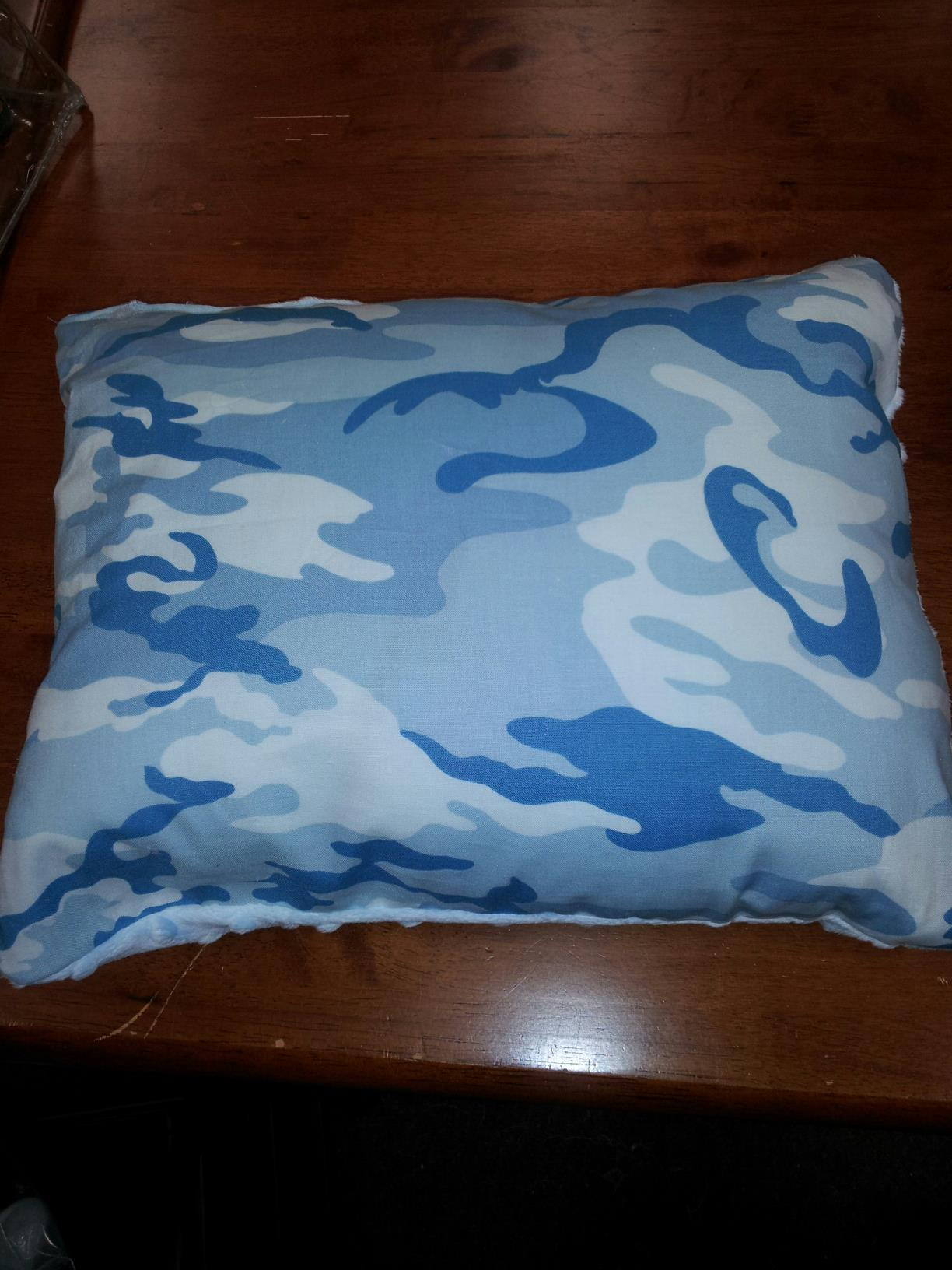 Name:  In His Hands pillow front.jpg