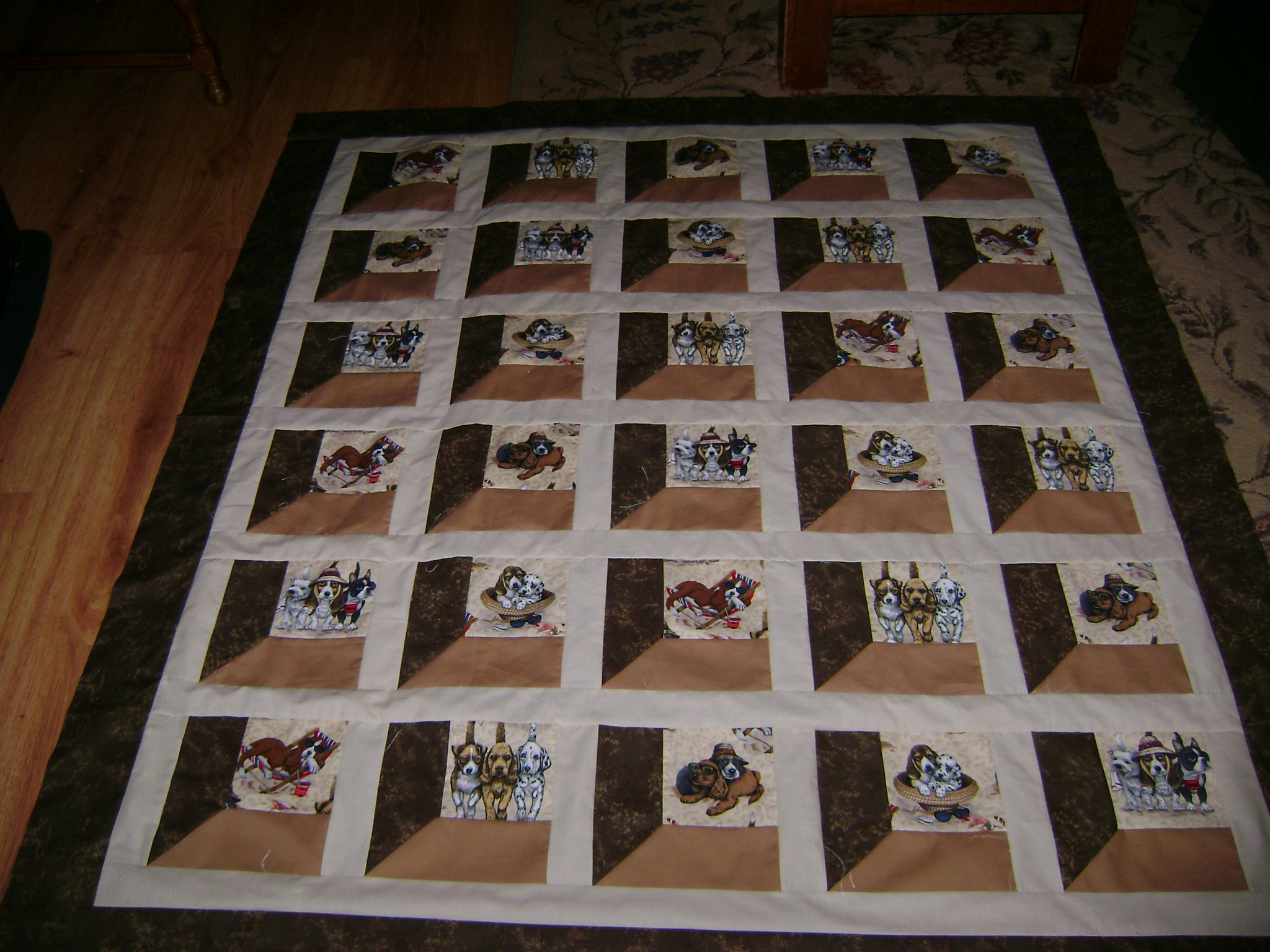 Name:  Dogs at the beach quilt 005.jpg