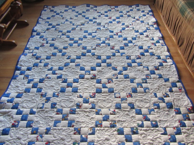 Name:  snowman quilt.JPG