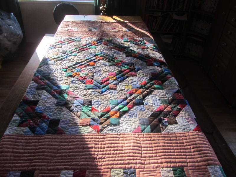 Name:  table shot charity quilt.JPG