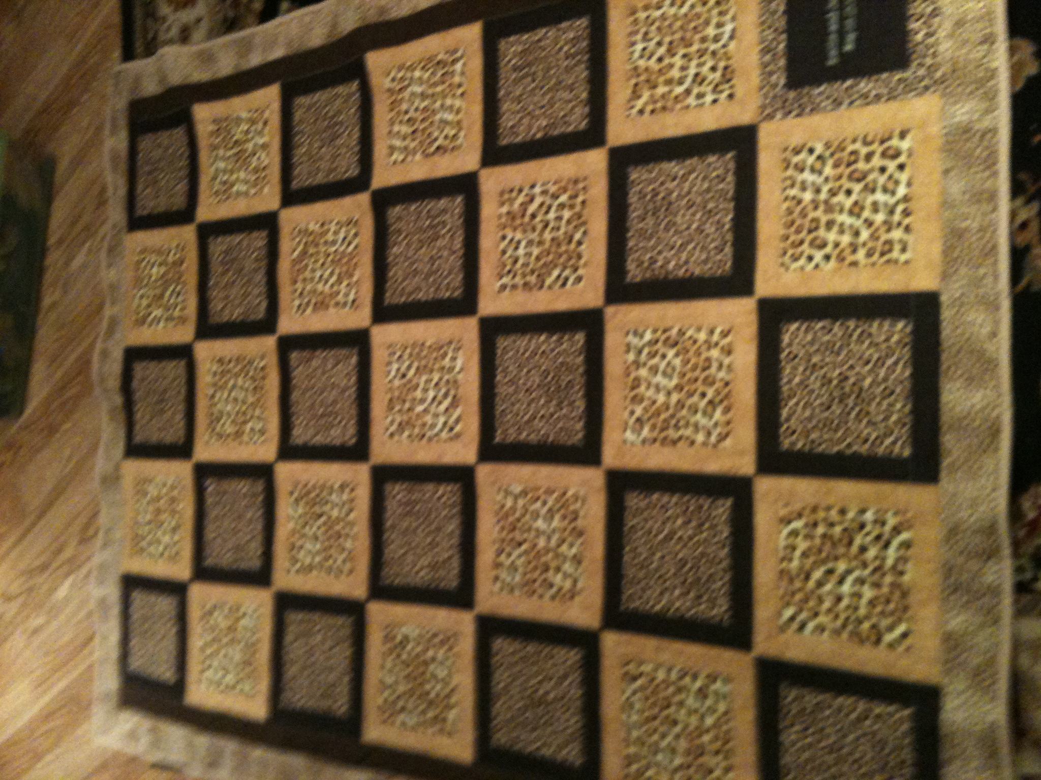 leopard quilt - number 2 : leopard print quilts - Adamdwight.com