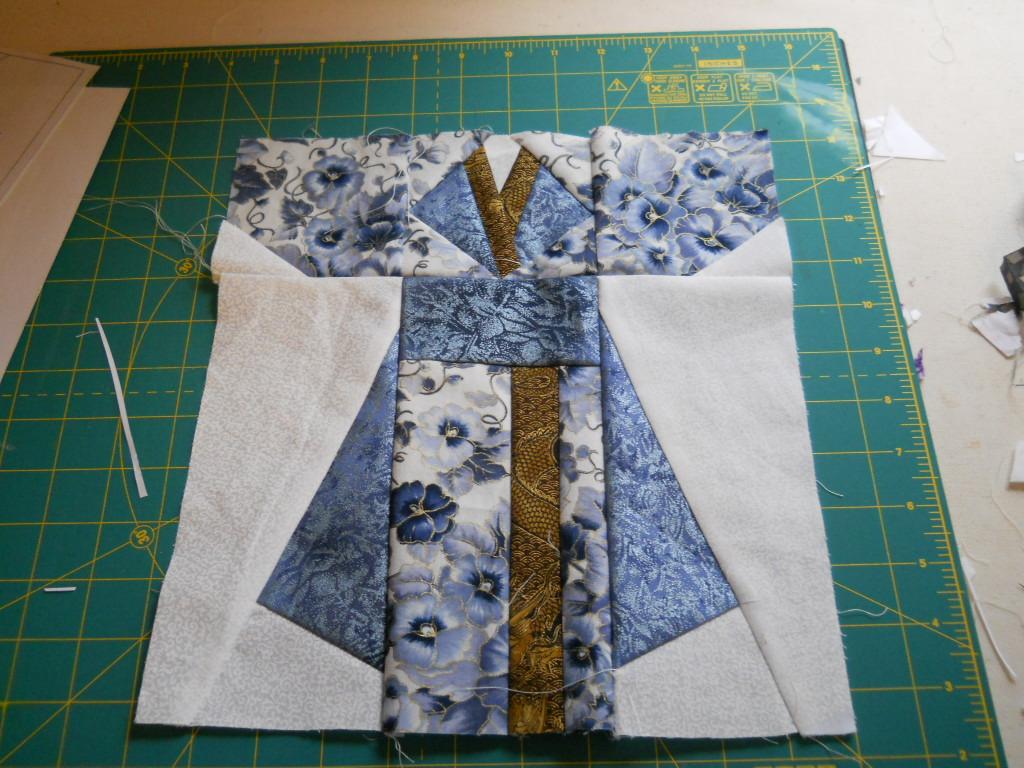 Paper Pieced Kimonos