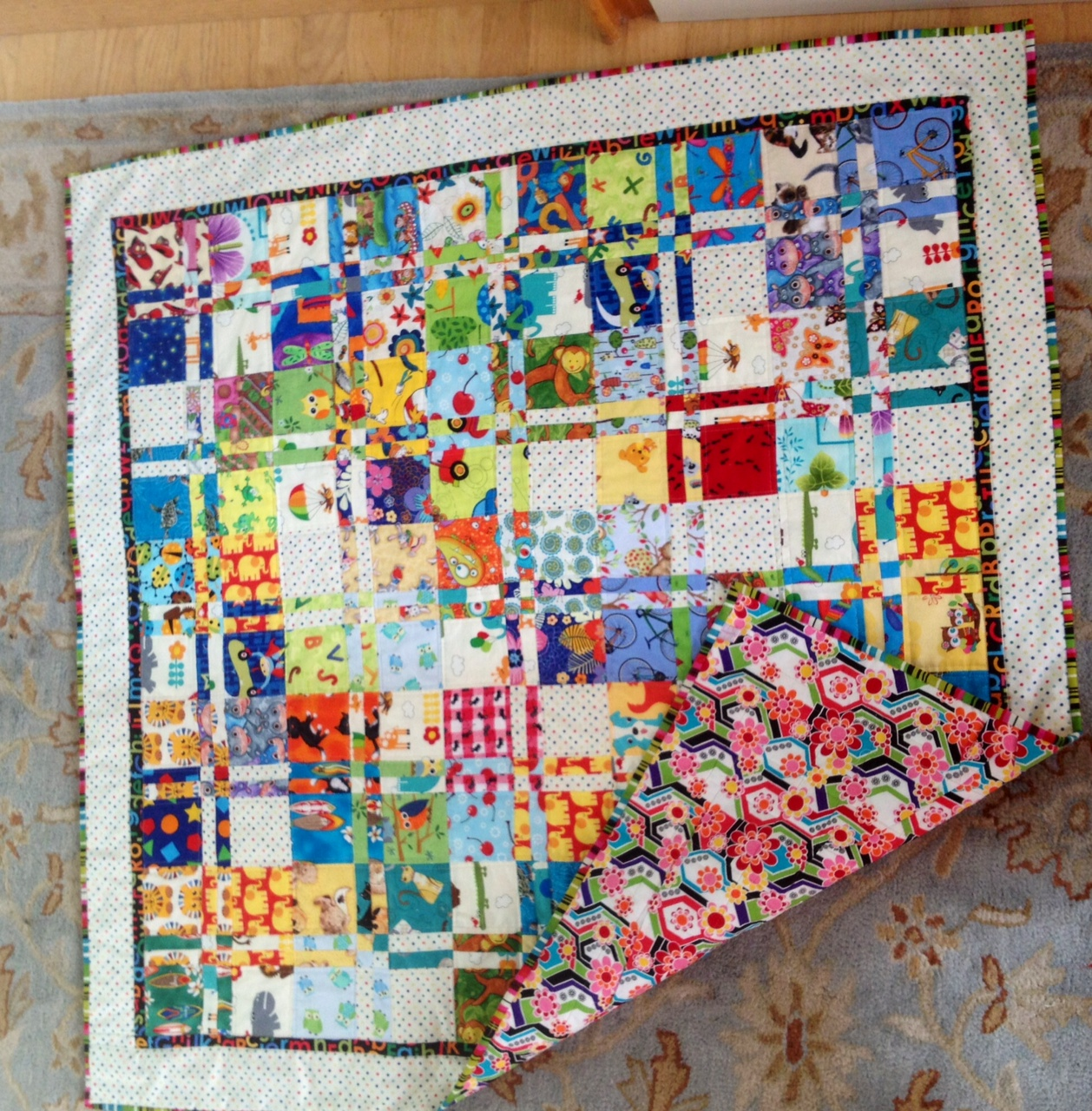 I Spy Disappearing 4 patch quilts for twins - boy and girl : disappearing four patch quilts - Adamdwight.com