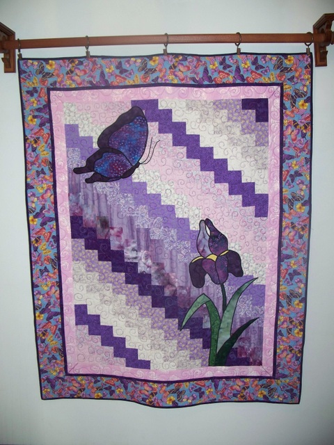 Name:  04-Iris & Butterfly Wallhanging.JPG