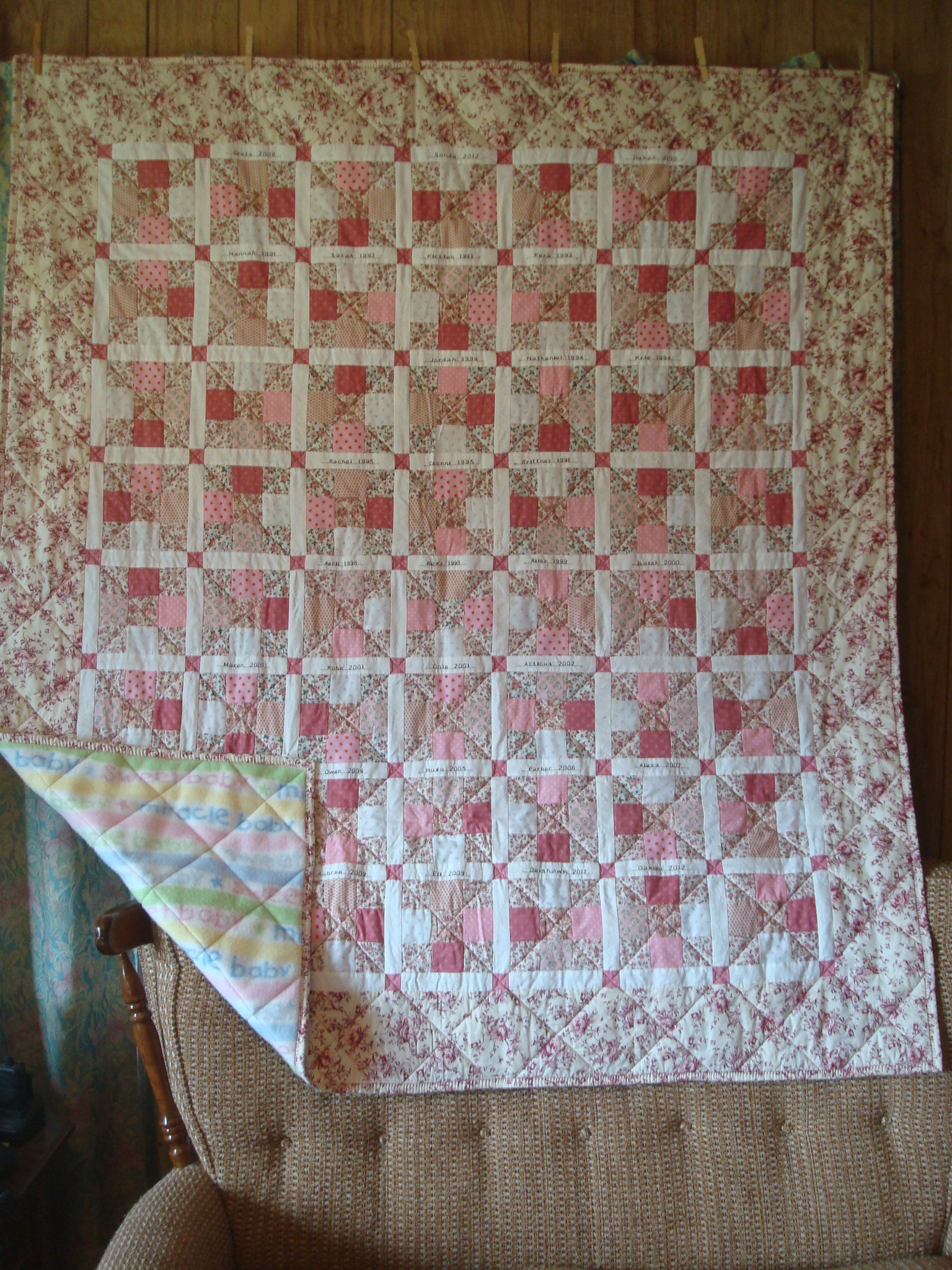 Name:  2013-05-baby quilt for Sonja Elisabet.jpg