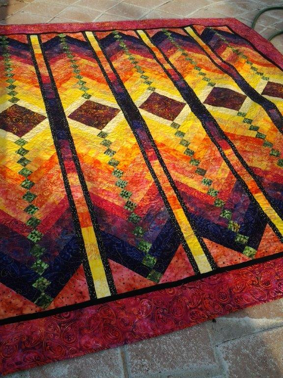 My First French Braid Quilt Quiltingboard Forums