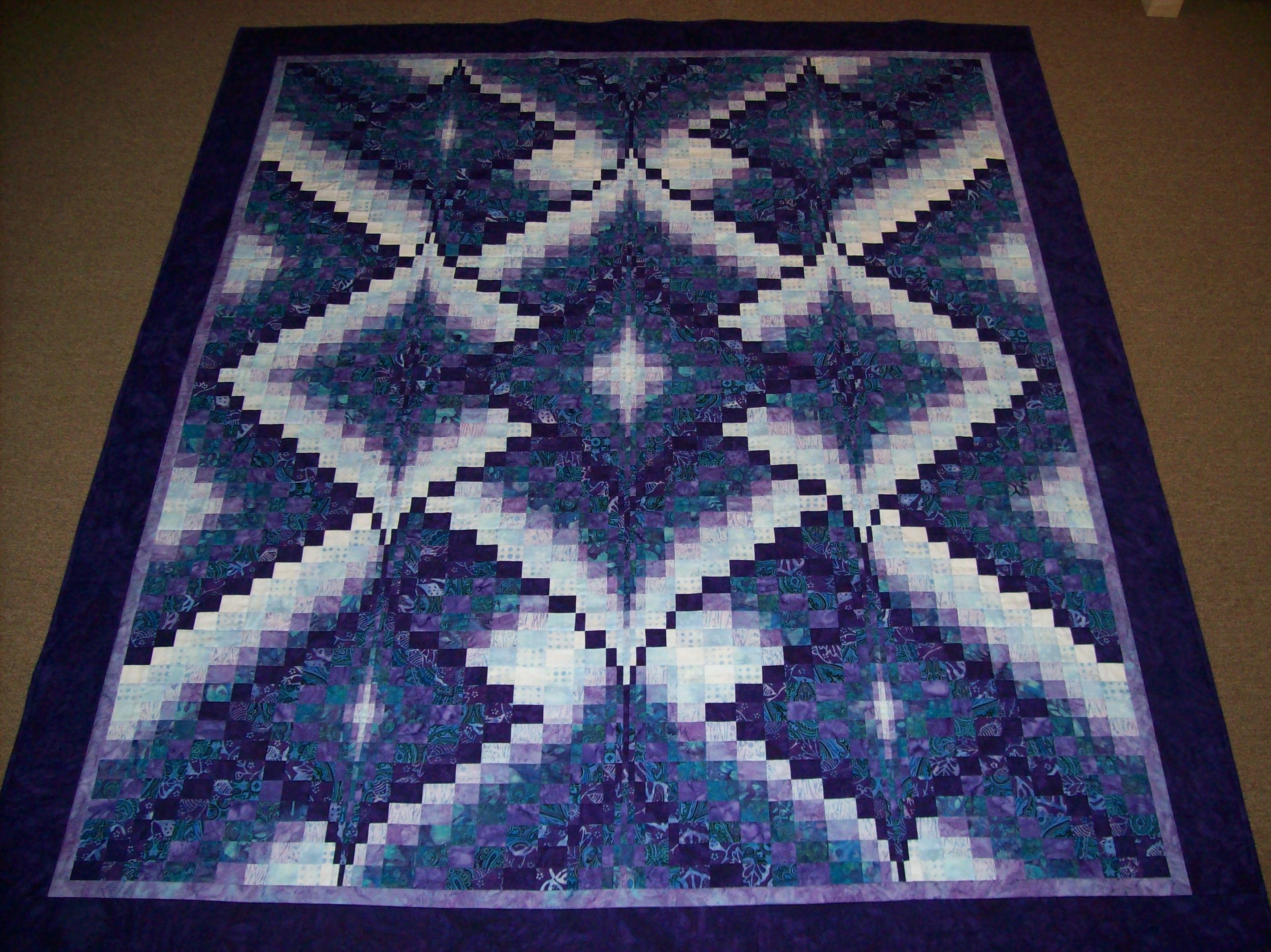 Bargello Shakespeare In The Park Amp Chutney Quilts