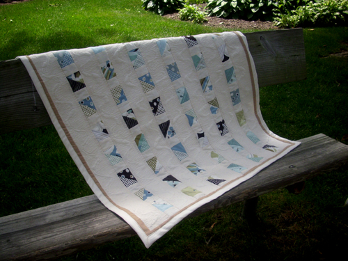 Name:  Blue Brown Natural Muslin Quilt 1.jpg