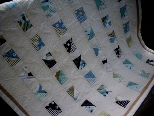 Name:  Blue Brown Natural Muslin Quilt 2.jpg