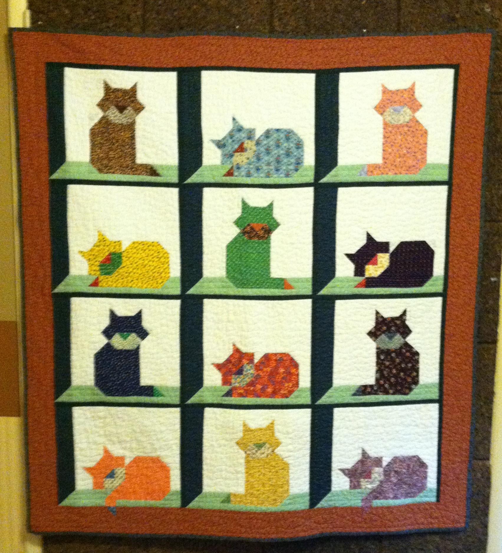 Cat In The Attic Quilt