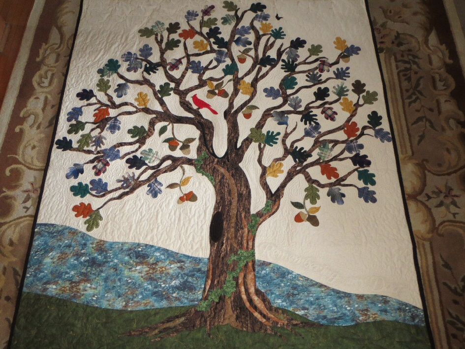 Oak Tree Memory Quilt
