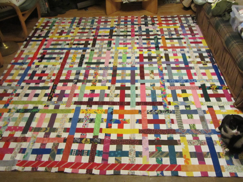 Name:  woven quilt top.JPG