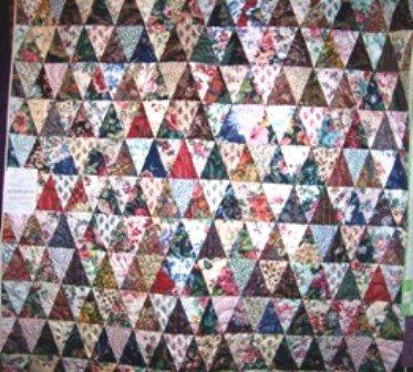 Name:  My triangle quilt.jpg