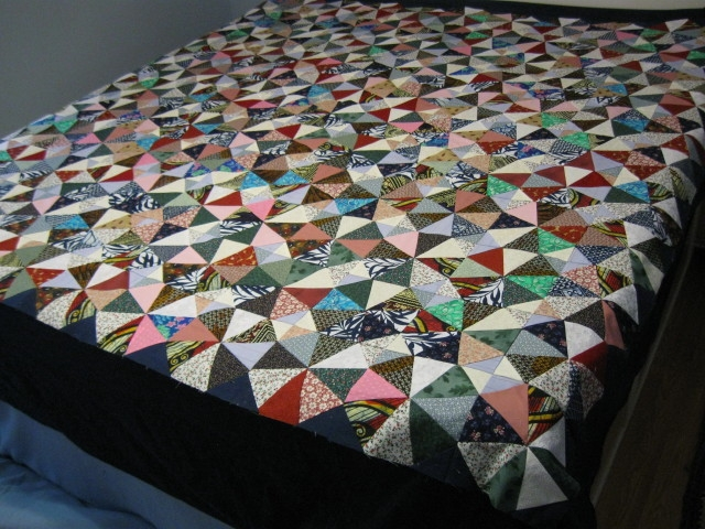 Name:  Kaleidoscope quilt top.JPG