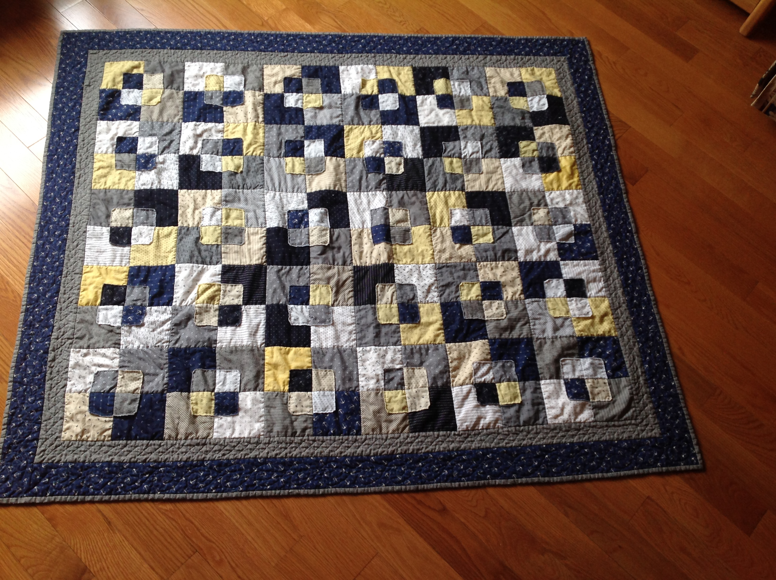 Quilt For Great Nephew