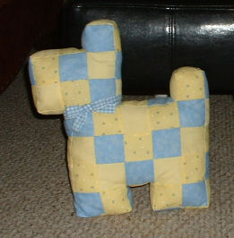 Name:  Blue and Yellow dog.jpg