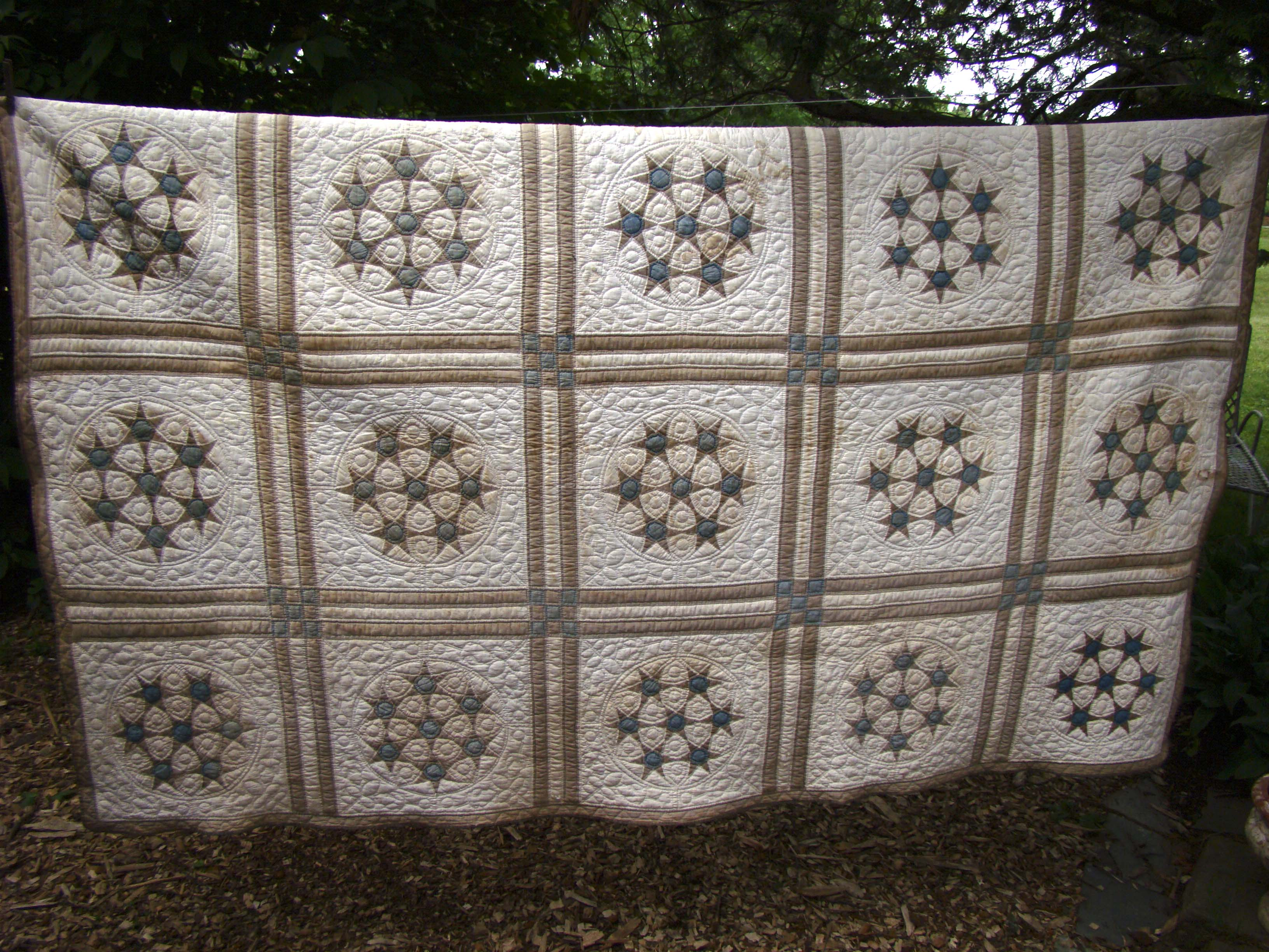 Name:  Quilt 7 sisters star 2.jpg
