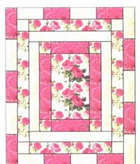 Name:  Center panel quilt in pink.jpg