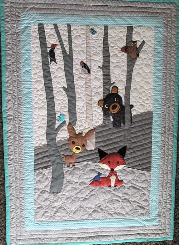 Name:  Waylon's quilt finished .JPG