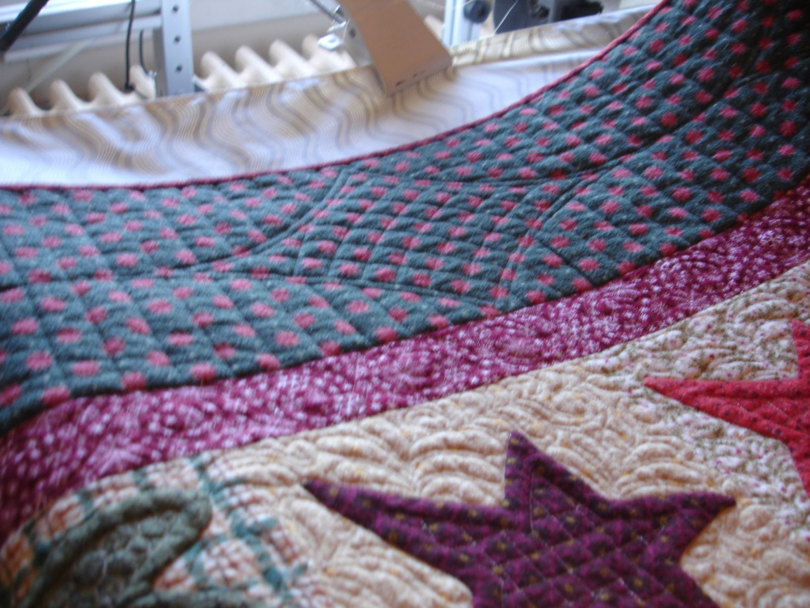 Name:  Christmas wishes border quilting.JPG