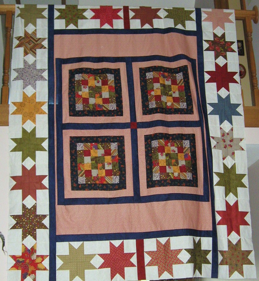 Name:  Kansas Troubles Quilt top 001.JPG