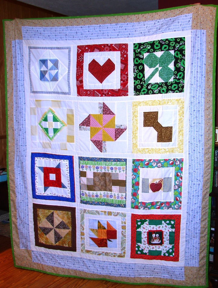 Name:  12 Occasions For Love- Andrea's wedding calendar quilt.jpg Views: 191 Size:  381.3 KB