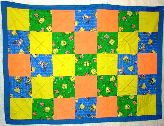 Name:  Sponge Bob, comfort quilt.jpg