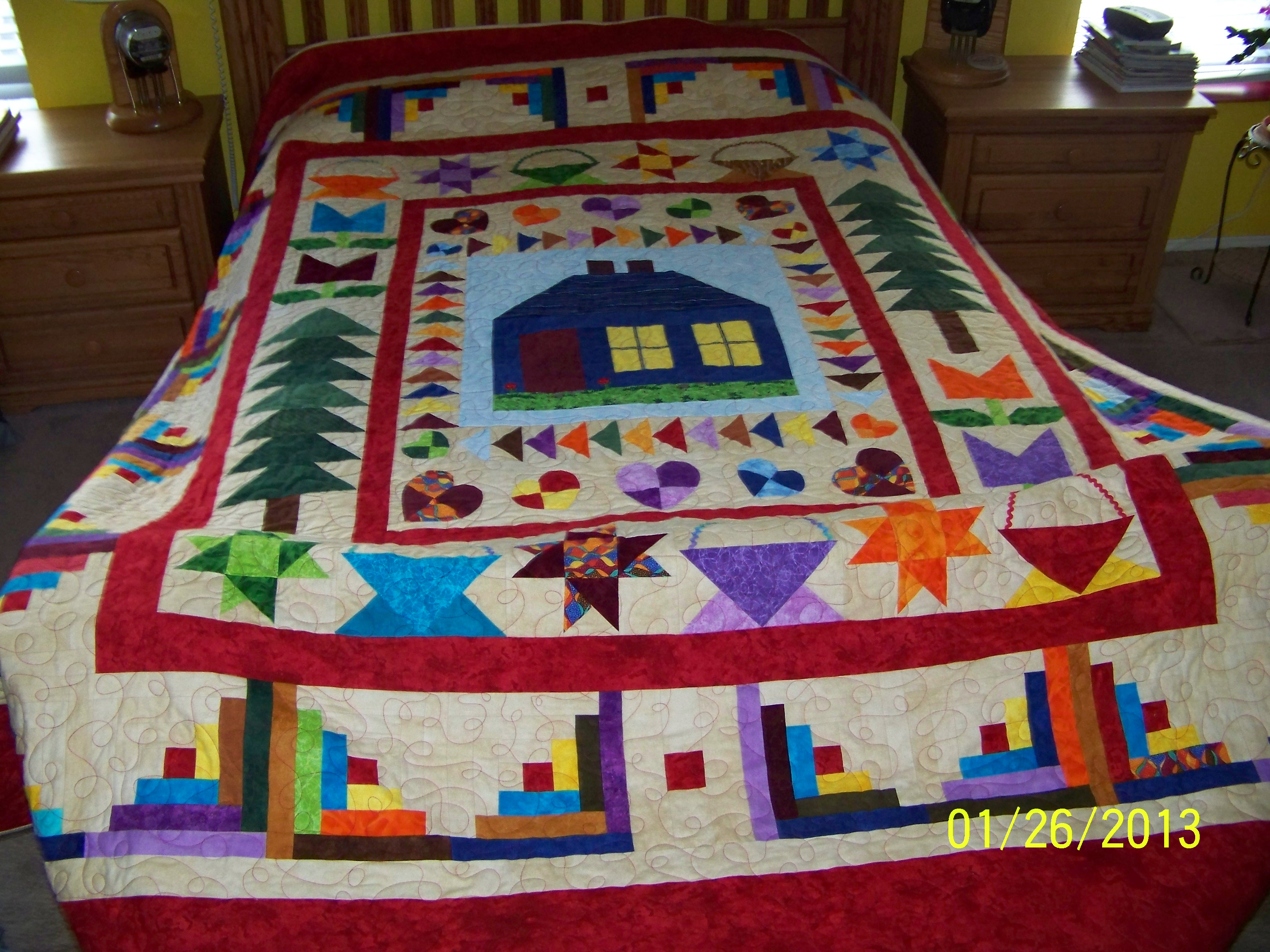 Name:  flannel house quilt.JPG